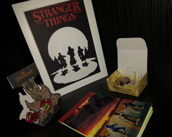 KIT MINI STRANGER THINGS - PRESENTES - SERIES