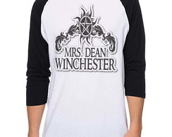 Camiseta Raglan Supernatural - Mr Dean Winchester