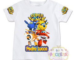 Camiseta Infantil Super Wings modelo 13