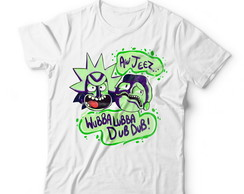 Camiseta Rick and Morty - Wubba Lubba Dub Dub II