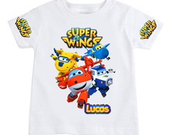 Camiseta Infantil Super Wings modelo 15
