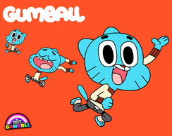Painel 1,50x1 Gumball