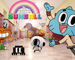 Painel 2x1 Gumball