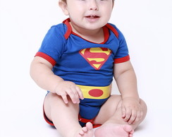 Body Superman Bebe , Fantasia Super homem Bebe, Bodie