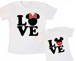 CAMISETAS MICKEY E MINNIE