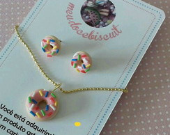 Conjunto doce biscuit (DONUTS)