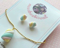 Conjunto doce biscuit (MARSHMALLOW))