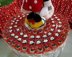 Bombons decorados Minnie