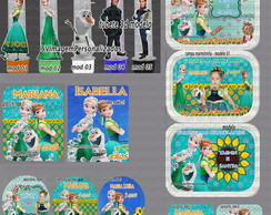 Kit Arte Digital Frozen Fever