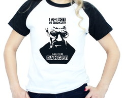 Camiseta Série Breaking Bad Raglan feminina