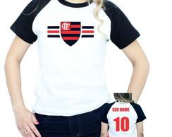 ... Camiseta Time de Futebol Raglan feminina b1875f2b923b1