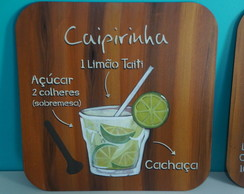 Quadro decorativo para Area Gourmet Drinks
