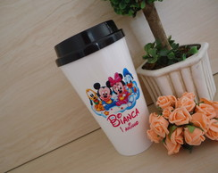 Copo Bucks 550ml com Tampa Baby Disney Mickey Minnie Baby