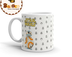 Caneca Star Wars Ultimo Jedi