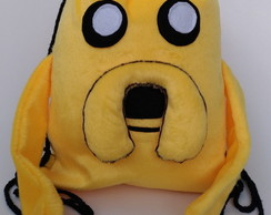 MOCHILA JAKE ADVENTURE TIME HORA DA AVENTURA