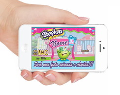 CONVITE DIGITAL SHOPKINS