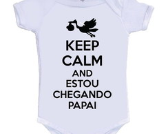 body infantil keep calm and estou chegando