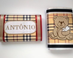 Chocolate personalizado bordado Burberry