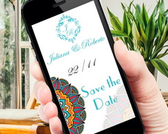 Save the Date Digital Whatsapp