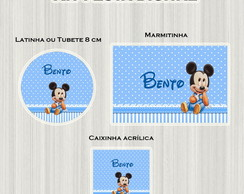 Kit festa Digital Mickey Baby 1 aninho