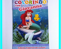 Revista de Colorir Ariel