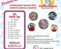 Kit Promocional - Festa Top