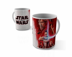CANECA - STAR WARS - OS ULTIMOS JEDI