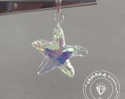 35875f6a1595 Brinco De Prata 925 E Cristal Swarovski Coração Azul no Elo7 | VMR ...