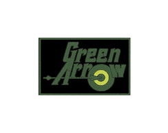 Patch Bordado Termocolante Green Arrow - modelo1