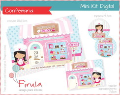 Mini Kit Digital A Bela e a Fera