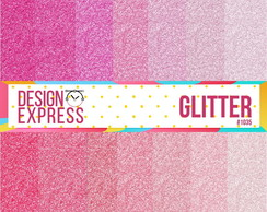 Papel Digital - Glitter rosa
