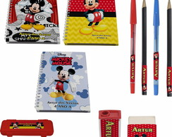 Kit Escolar N° 3 - Mickey