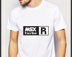 Camiseta Geek MSX Turbo