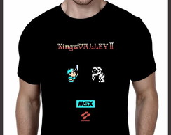 Camiseta Geek MSX Kings Valley 2