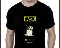 Camiseta MSX Expert Penguin Adventure