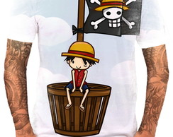 Camiseta Camisa Personalizada Anime One Piece Piratas Hd 5