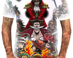 Camiseta Camisa Personalizada Anime One Piece Piratas Hd 9