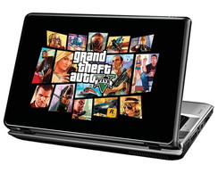 Skin Para Notebook - Game GTA V