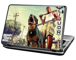 Skin Para Notebook - Game GTA V - Franklin