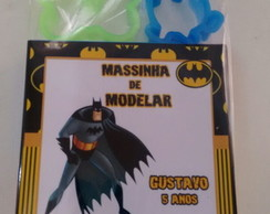 Massinha de Modelar com Moldes Batman