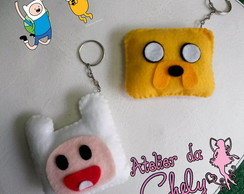 Kit Chaveiros Finn e Jake