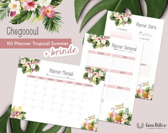Planner Tropical Summer