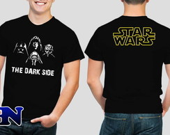 Camiseta Star Wars The Dark Side Kylo Ren Darth Vader