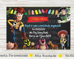 Convite Toy Story Digital