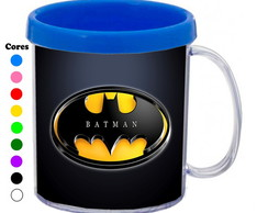 Kit 30 Canecas Personalizadas Batman