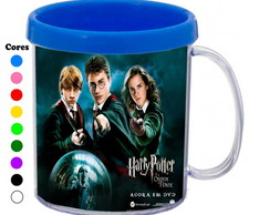 Kit 30 Canecas Personalizadas Harry Potter