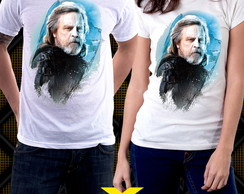Camiseta Star Wars Os Últimos Jedi Luke Skywalker