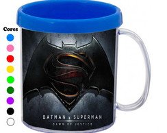 Kit 30 Canecas Personalizadas Batman VS Superman