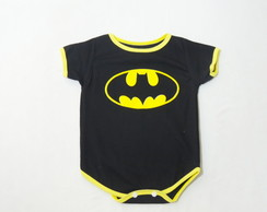 Body para bebê do batman