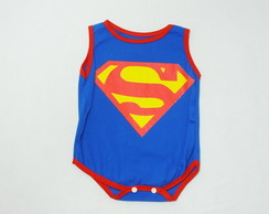 Body para bebê do superman